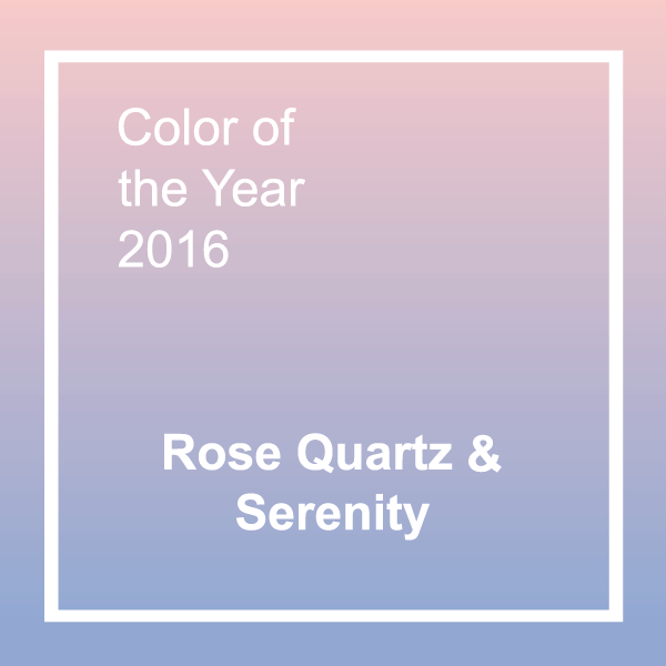 Pantone Color of Year 2016