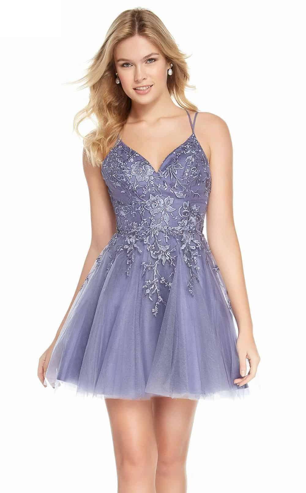 Lavendar Dress