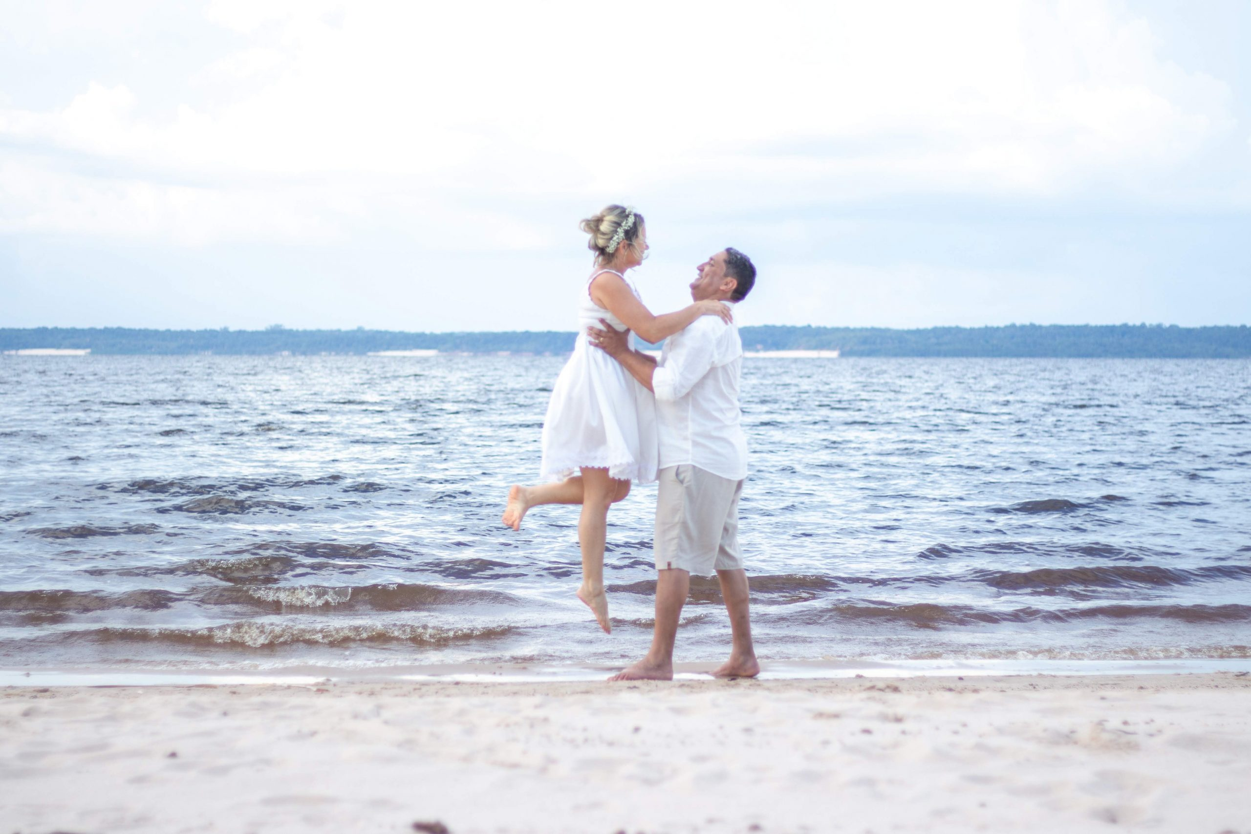 Married Couple on Beach - Featured Image
