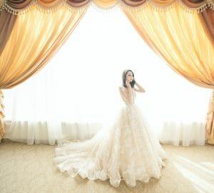 Bride in Wedding Dress - Featured Image
