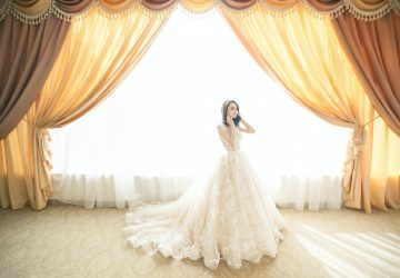 Bride in Wedding Dress - Featured Image