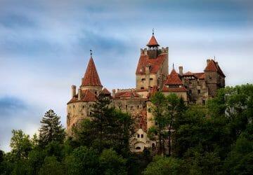 Bran Castle Romania Author Dobre Cezar