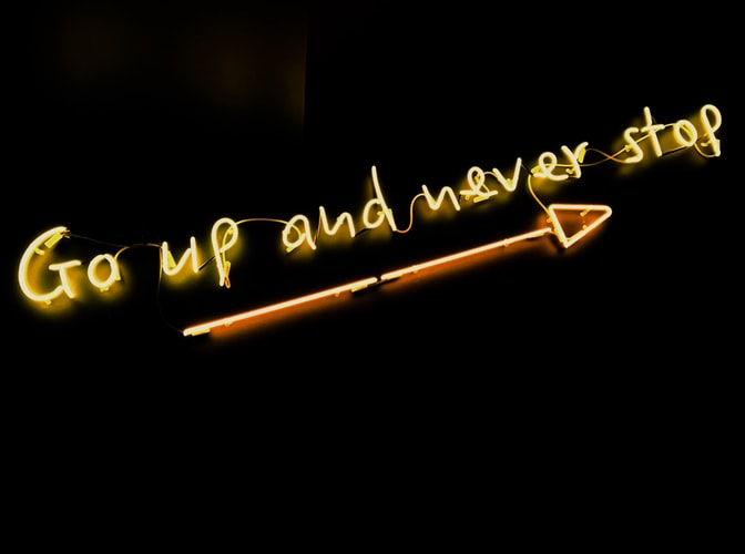Go Up and Never Stop