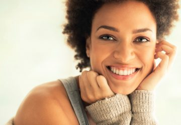 Woman's Beauty Headshit