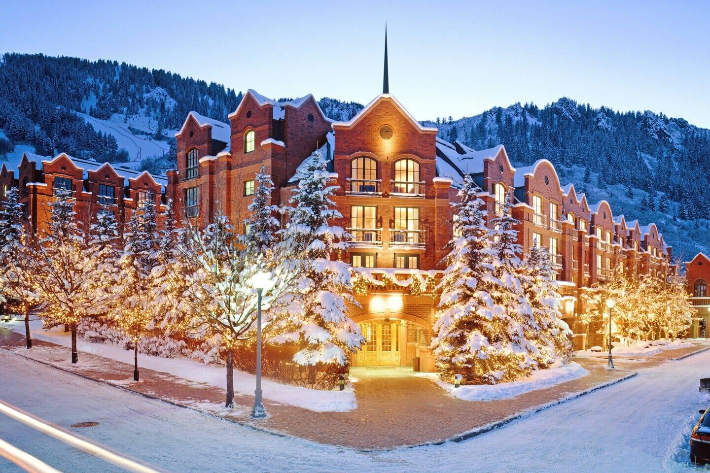 St. Regis Aspen Resort Winter Exterior