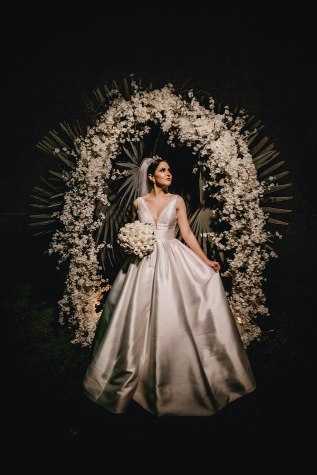 Arch with Bride