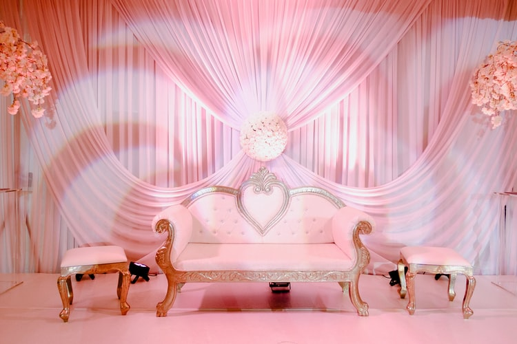 Pink Lounge Area