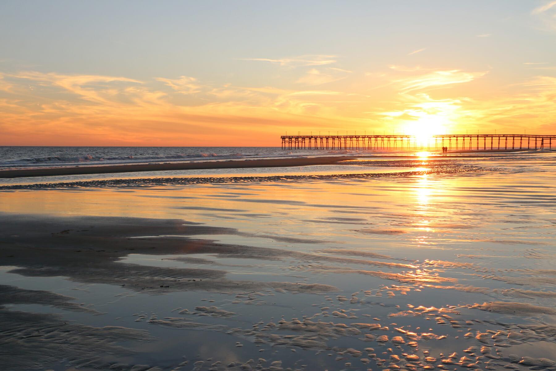 Brunswick Islands, North Carolina sunset