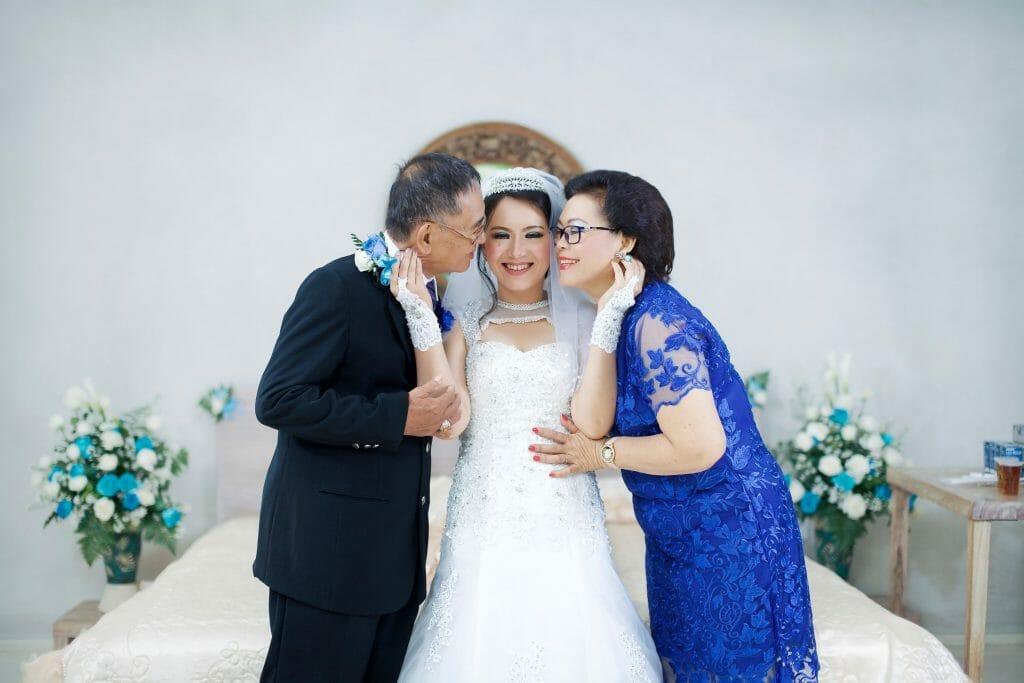 Parents Attending Wedding