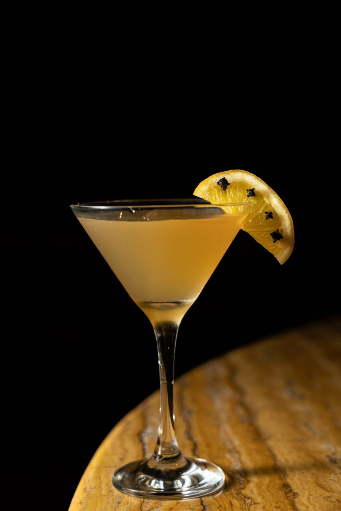 Yellow Fever Martini