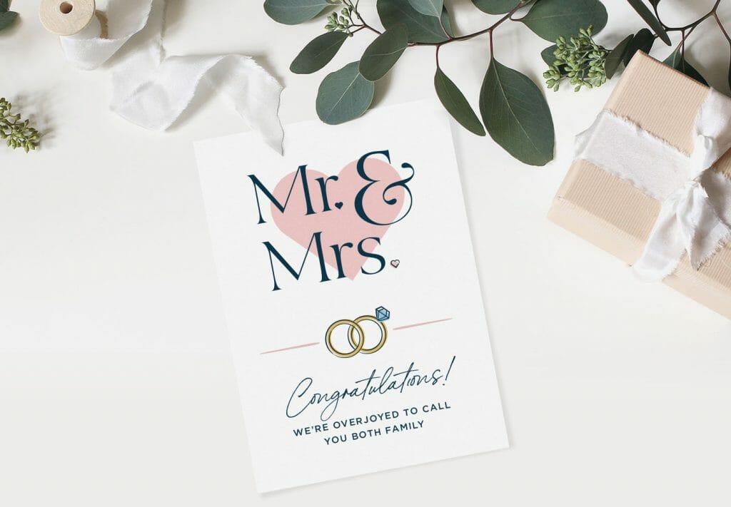 family-wedding-card