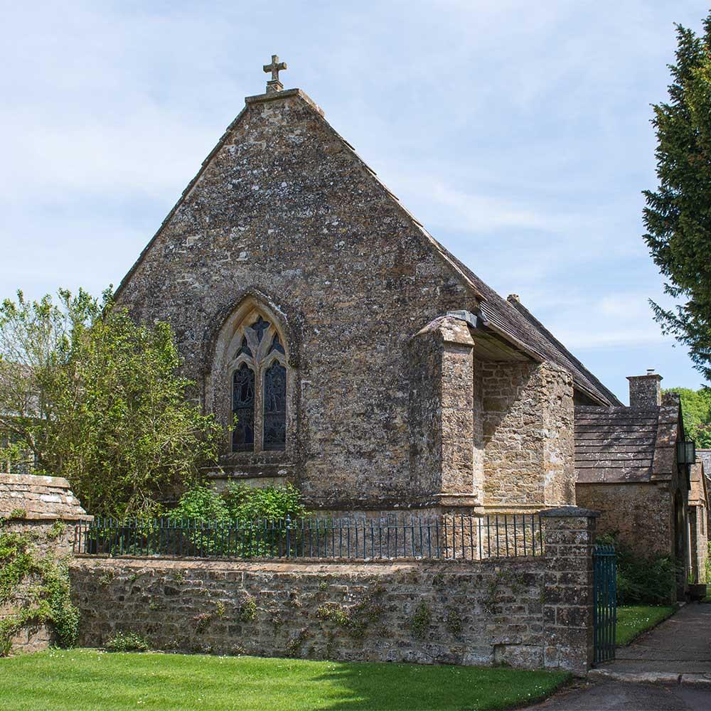 all-saints-church-mapperton-house