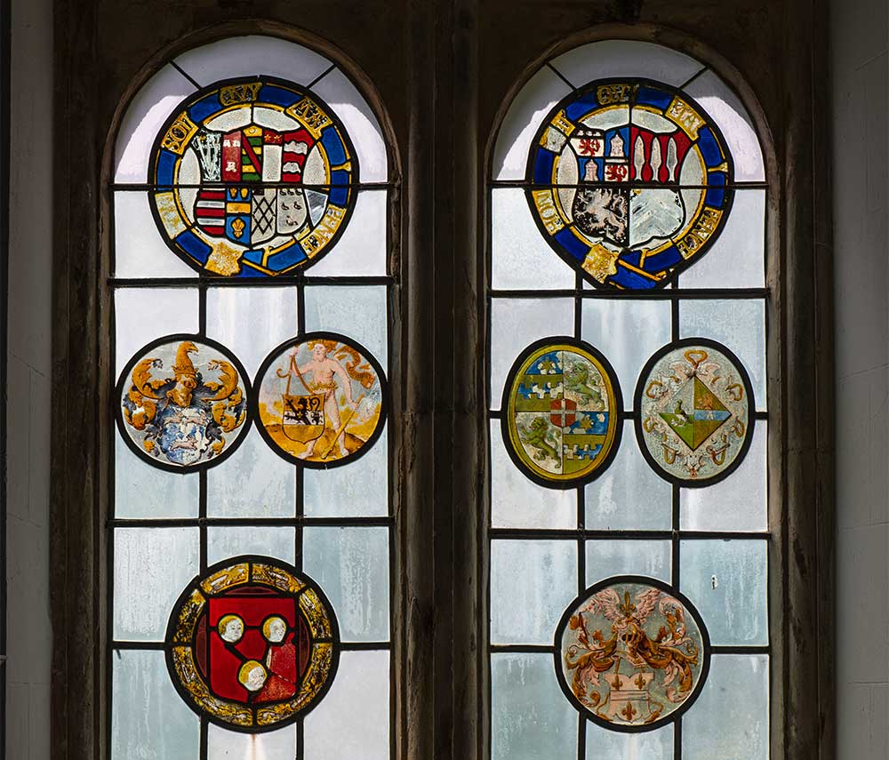 fine-stained-glass-mapperton-all-saints-church