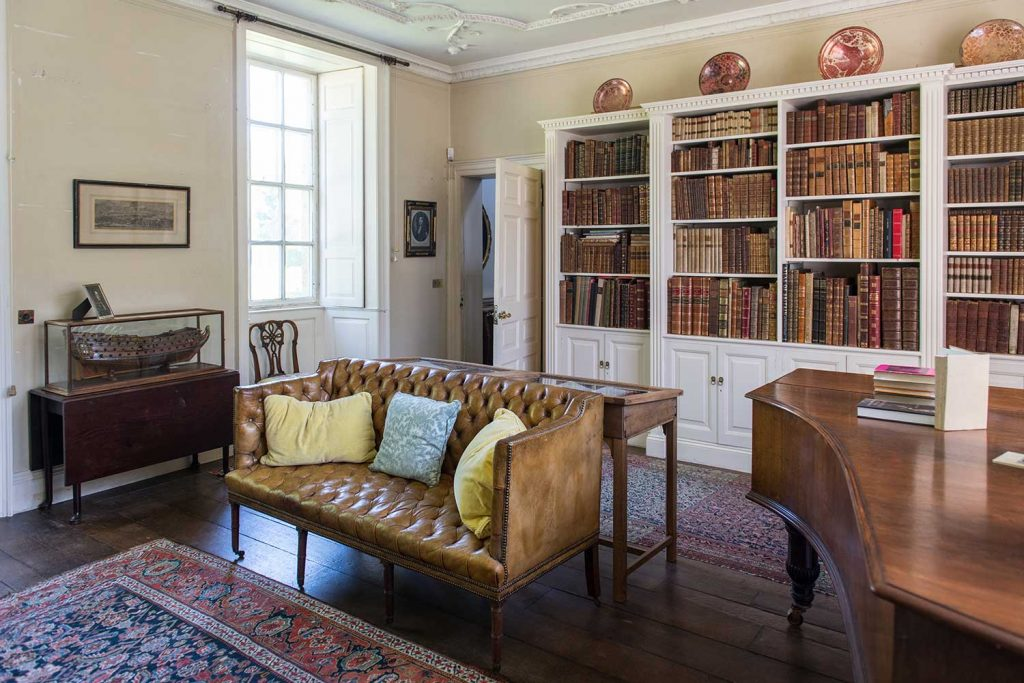 the-library-mapperton-house