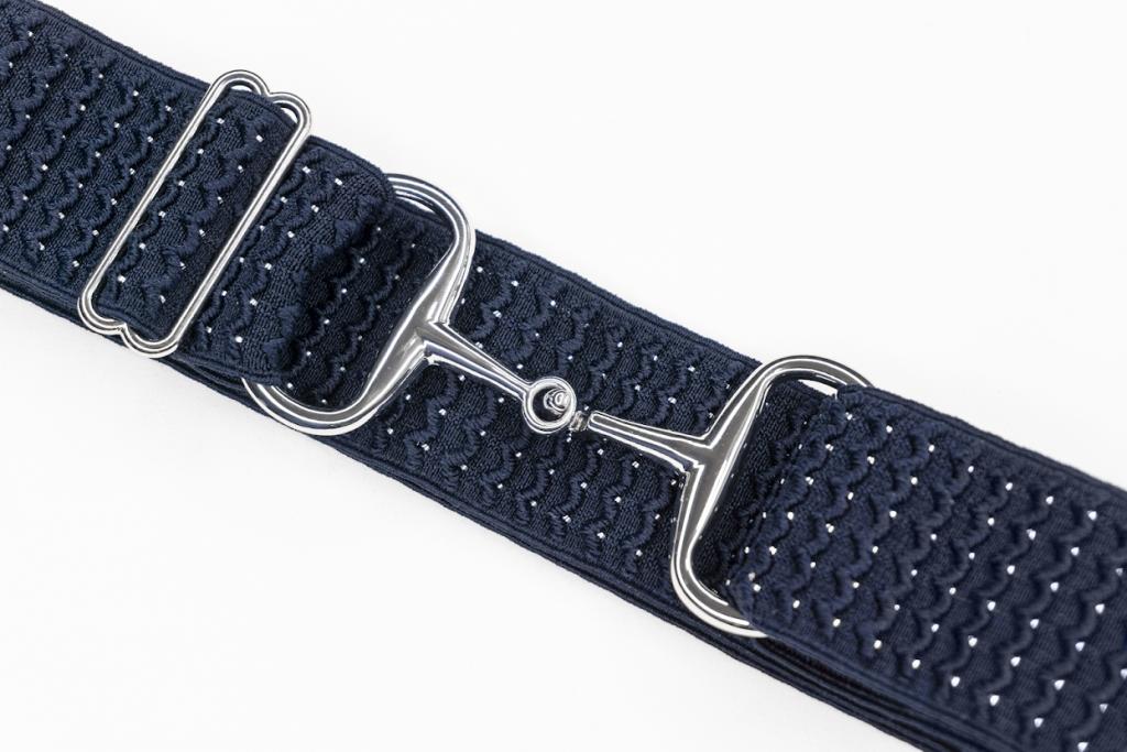 Snaffle Belt - Navy