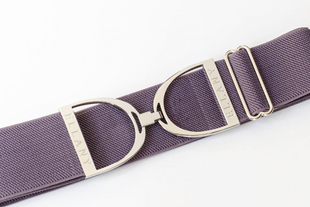 Stirrup Belt - Plum