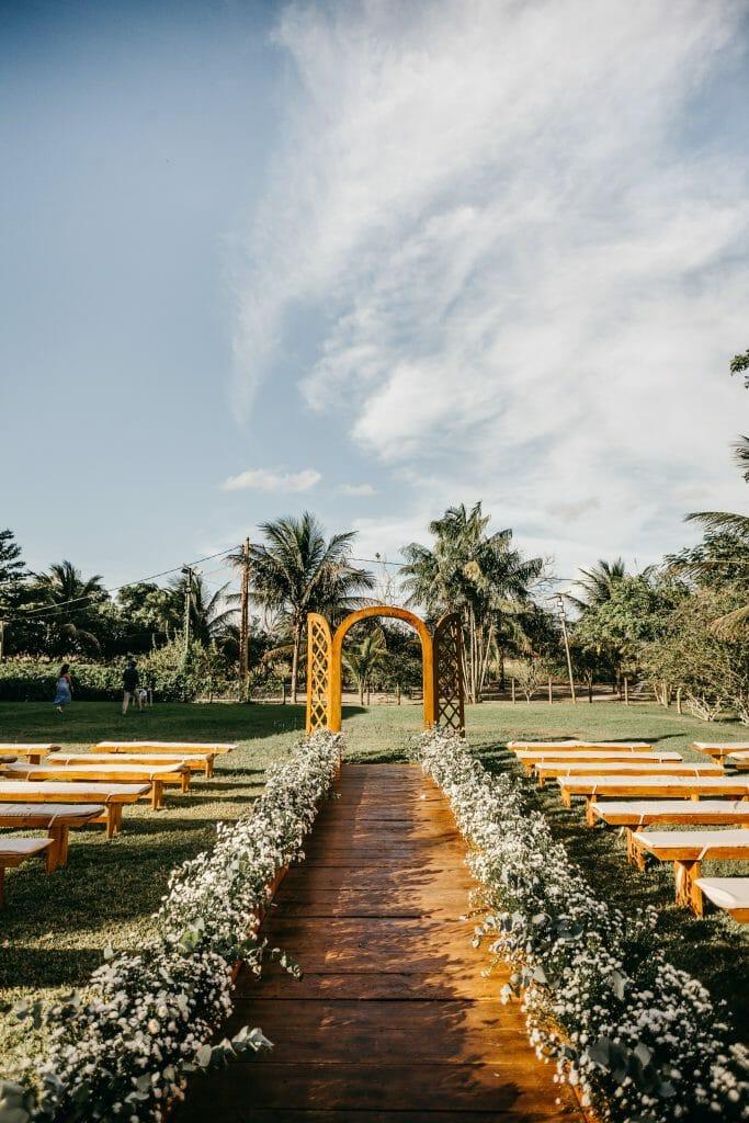 Traditional Aisle Wedding